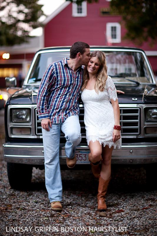 Boston wedding hairstylist Lindsay Griffin