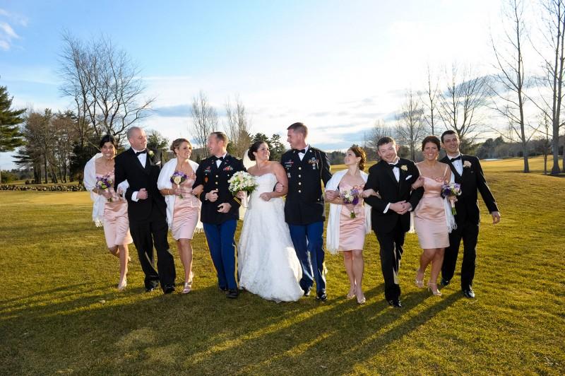Boston wedding bridal party