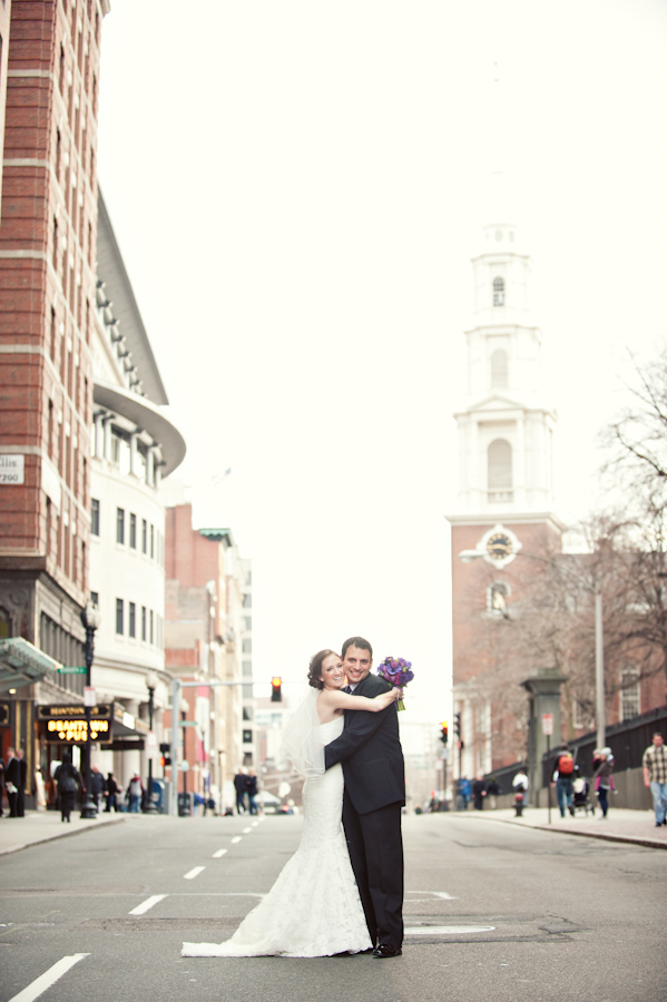 Boston wedding first look photos