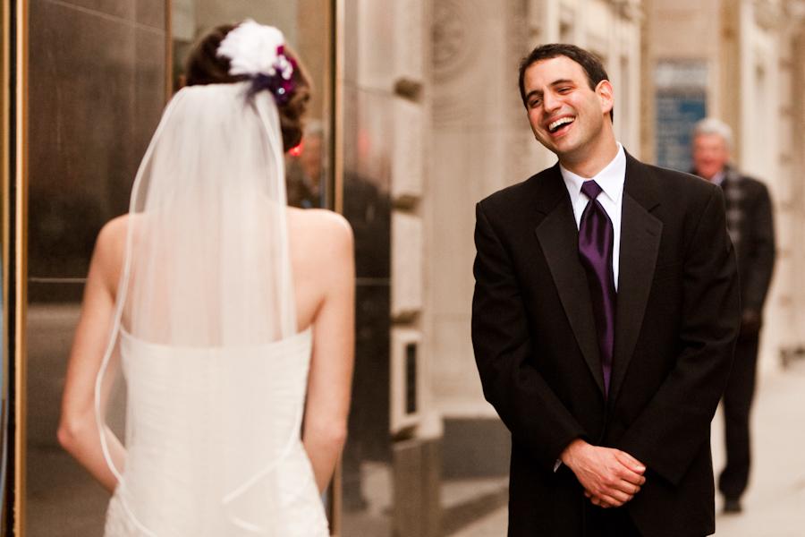 Boston wedding first look
