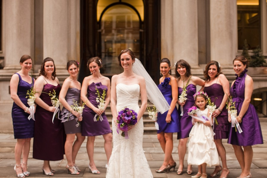 Omni Parker House Boston wedding group